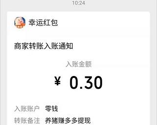 养猪赚多多app:秒提0.3,打卡也有红包!  养猪赚多多app 打卡红包 第4张